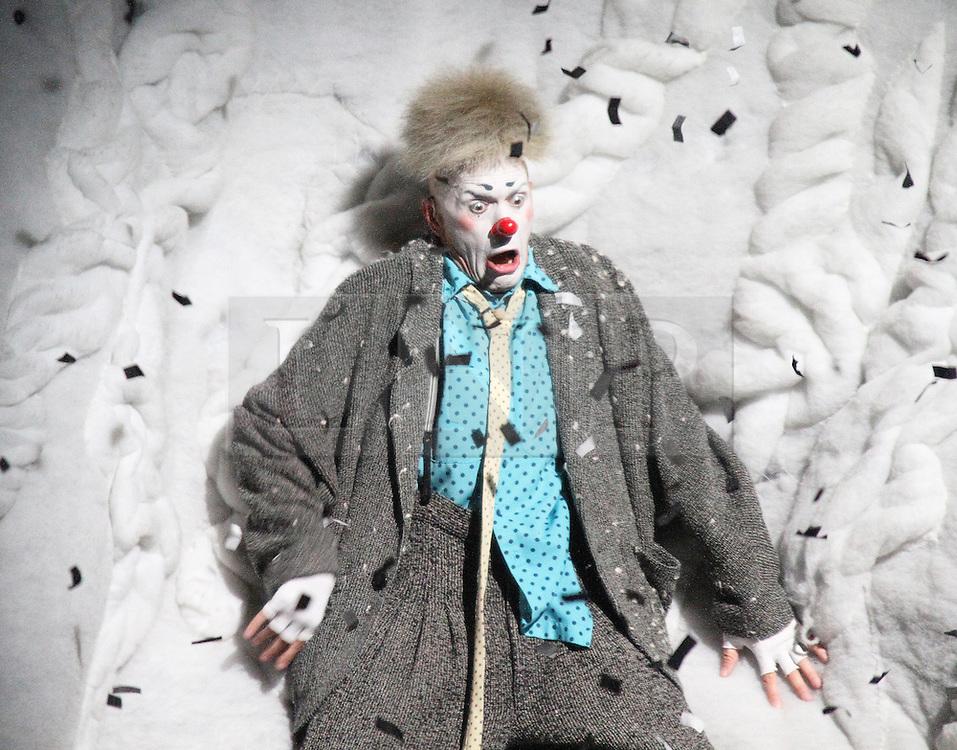 © London News PIctures. Storm; Maxim Formitchev, Cirque Du Soleil Alegria opening night, O² Arena, London UK, 18 July 2013. Photo credit: Richard Goldschmidt/LNP