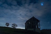 This is the 4th and final lunar eclipse of the tetrad. I was able to view it between clouds near Muscatine, Iowa.