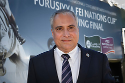 Devos Ingmar, (BEL), FEI President<br /> First Round<br /> Furusiyya FEI Nations Cup Jumping Final - Barcelona 2015<br /> © Dirk Caremans<br /> 25/09/15