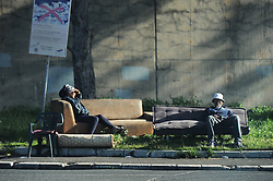South Africa - Cape Town - 29 September 2020 - There has been a rapidincrease of homeless people living around the Lansdowne Station area. Photographer: Armand Hough/African News Agency(ANA)