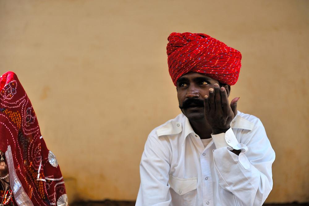 Musician in the Mehrangarh Fort