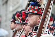 The Lord Mayor's Show, London, UK (9 November 2013). No 88 in the procession, the Belgian Tourist Board Road to Waterloo 200. 2015 marks the 200th anniversary of the historic Battle of Waterloo, in modern-day Belgium.