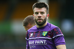 Grant Hanley of Norwich City during the warm up - Mandatory by-line: Arron Gent/JMP - 24/10/2020 - FOOTBALL - Carrow Road - Norwich, England - Norwich City v Wycombe Wanderers - Sky Bet Championship