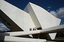 Panteão da Pátria e da Liberdade Tancredo Neves possui o formato de pomba e está Praça dos Três Poderes. Foi projetada pelo arquiteto Oscar Niemeyer. FOTO: Jefferson Bernardes/ Agência Preview