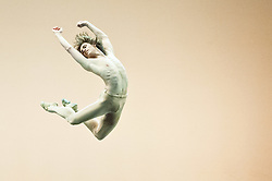 i© Licensed to London News Pictures. 27/01/2012. Sadler's Wells, London. Former Royal Ballet Principal, Ivan Putrov, presents an evening of works exploring the beauty of the male form in motion. Joining him onstage will be Royal Ballet sensation Sergei Polunin, Mariinsky Ballet Principal Igor Kolb, Critics' Circle Award-winner Daniel Proietto, English National Ballet Senior Principal Elena Glurdjidze and South Bank Show Breakthrough Artist award-winner Aaron Sillis. .Picture shows Sergei Polunin in Narcisse. Photo credit : Tony Nandi/LNP