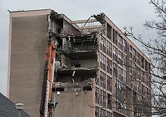 Portobello High School Demolition   Edinburgh   10 March 2017