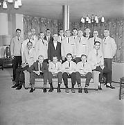 "Y-640803-06. ""Emanuel Hospital. Chaplains. August 3, 1964"""