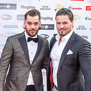 NLD/Amsterdam/20150629 - Uitreiking Rainbow Awards 2015, Janice en partner