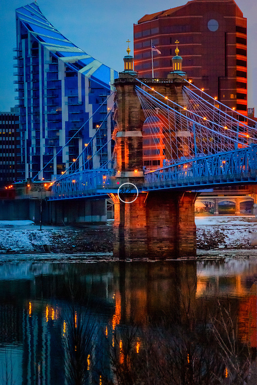 John A Roebling Suspension Bridge