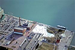 Toronto Ice Rink - Ariel View