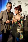 FRANCESCO RUGI,; SILVIA QUINTANILLA;  Wallpaper Design Awards 2012. 10 Trinity Square<br /> London,  11 January 2011.