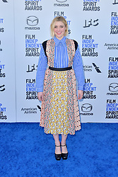 February 8, 2020, Santa Monica, Kalifornien, USA: Greta Gerwig bei der 35. Verleihung der Film Independent Spirit Awards 2020 im Zelt am Santa Monica Beach. Santa Monica, 08.02.2020 (Credit Image: © Future-Image via ZUMA Press)