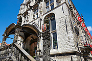 The ancient town hall of the dutch town Gouda in South Holland, Netherlands