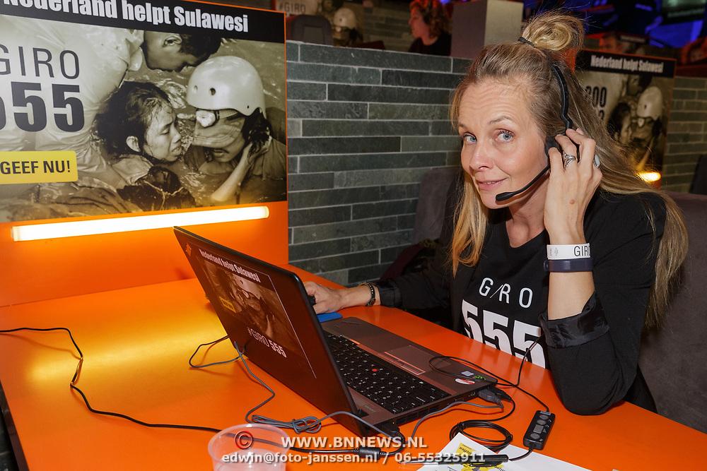 NLD/Hilversum/20181010 - Giro 555 actiedag voor Sulawesi, Marlayne Sahulpala - van den Broek