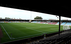 A general view of Glanford Park, home of Scunthorpe United - Mandatory by-line: Robbie Stephenson/JMP - 23/08/2016 - FOOTBALL - Glanford Park - Scunthorpe, England - Scunthorpe United v Bristol City - EFL Cup second round
