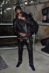 Travis Scott arriving at the Saint Laurent show during Paris Fashion Week Ready to wear FallWinter 2017-18 on February 28, 2017 in Paris, France Photo by Alban Wyters /ABACAPRESS.COM