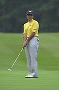 2001 Weetabix Women's British Open, Sunningdale Golf Course, Berks, Great Britain<br />  <br /> [Mandatory Credit Peter Spurrier/Intersport Images]<br /> <br /> Friday 3rd August 2001<br /> Weetabix Women's British Open<br /> <br /> Japan's, Kasumi Fujii