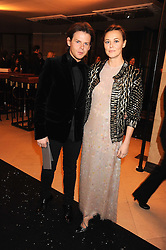 CHRISTOPHER KANE and his sister TAMMY KANE at the 2008 British Fashion Awards held at the Lawrence Hall, Westminster, London on 25th November 2008.