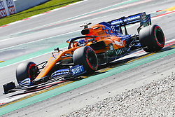 May 11, 2019 - Barcelona, Catalonia, Spain - McLaren Renault driver Carlos Sainz (55) of Spain during F1 Grand Prix qualifying celebrated at Circuit of Barcelona 11th May 2019 in Barcelona, Spain. (Credit Image: © Mikel Trigueros/NurPhoto via ZUMA Press)