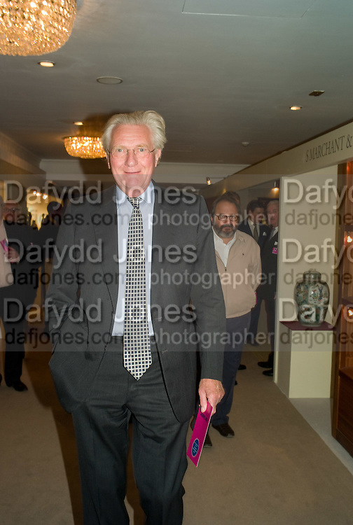 LORD HESELTINE, The Opening of the Grosvenor House Antiques Fair. Grosvenor House. Park Lane. London. 11 June 2008.  *** Local Caption *** -DO NOT ARCHIVE-© Copyright Photograph by Dafydd Jones. 248 Clapham Rd. London SW9 0PZ. Tel 0207 820 0771. www.dafjones.com.