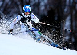 04.01.2013, Crveni Spust, Zagreb, AUT, FIS Ski Alpin Weltcup, Slalom, Damen, 1. Lauf, im Bild Irene Curtoni (ITA) // Irene Curtoni of Italy in action during 1st Run of the ladies Slalom of the FIS ski alpine world cup at Crveni Spust course in Zagreb, Croatia on 2013/01/04. EXPA Pictures © 2013, PhotoCredit: EXPA/ Pixsell/ Jurica Galoic..***** ATTENTION - for AUT, SLO, SUI, ITA, FRA only *****