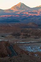 Valle de la Muerte, a few kilometers outside the city San Pedro de Atacama, Chile
