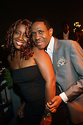 l to r: Meli'sa Morgan and Freddy Jackson at Rev. Al Sharpton's 55th Birthday Celebration and his Salute to Women on Distinction held at The Penthouse of the Soho Grand on October 6, 2009 in New York City