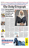 April 08, 2021 (UK): Front-page: Today's Newspapers In United Kingdom