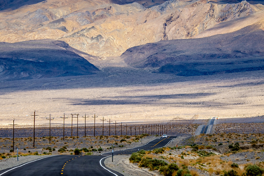 Off of HWY 395 on HWY 190 toward Owens Lake and Keeler, CA