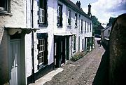 Dulverton village in Exmoor national Park, Somerset, England, 1967
