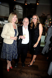 Left to right, SIR PETER & LADY BLAKE and LUCY YEOMANS at the Harper's Bazaar Women of the Year Awards 2008 at The Landau, The Langham Hotel, Portland Place, London on 1st September 2008.<br /> <br /> NON EXCLUSIVE - WORLD RIGHTS