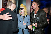 JANET STREET-PORTER; PAM HOGG; KATE MOSS; JEREMY HEALEY;, Art Plus Music Party 2010. Whitechapel art Gallery.  To raise money for the gallery';s education and community programme. 22 April 2010.