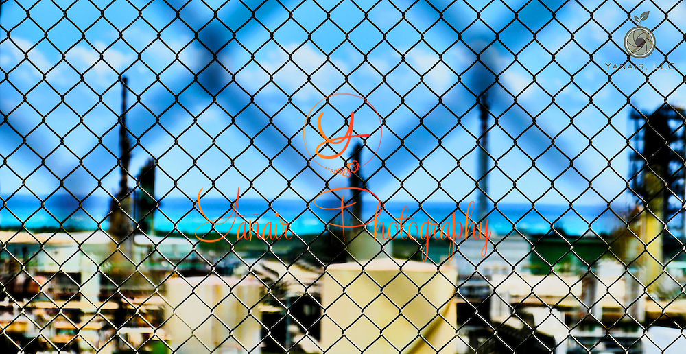 The Hovensa St. Croix abandoned oil refinery. It really is such a vast site to see. Massive and completely shut down. Please select Shopping Cart Below to Purchase prints and gallery-wrapped canvases, magnets, t-shirts and other accessories