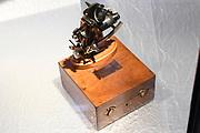 Perspreview 50 jaar Koninklijk Paleis Amsterdam.<br /> <br /> Op de foto: Een sextant van Willem-Alexander