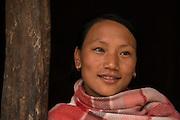 Chang Naga woman<br /> Chang Naga headhunting Tribe<br /> Tuensang district<br /> Nagaland,  ne India