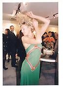 Paula Thomas at the Valentino shop party sloane st. shop party 21 Oct 96© Copyright Photograph by Dafydd Jones 66 Stockwell Park Rd. London SW9 0DA Tel 020 7733 0108 www.dafjones.com