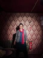 """03.02.2021 Magdeburg, Stenstraße, Dr. Franka Kretschmer, parteilos, bewirbt sich auf einen Sitz im Bundestag 2021, """"für eine klima- und sozialgerechte Zukunft"""", neue Politik<br /> <br /> ©Harald Krieg/Agentur Focus"""