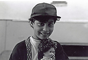 Carmen Bobocel in 1995 when she was 10 at the orphanage of Popricani. Carmen died one year later in November 1996