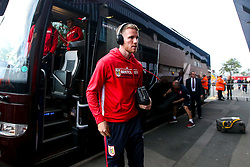 Marley Watkins of Bristol City arrives at the Hawthorns for the Sky Bet Championship fixture against West Bromwich Albion - Mandatory by-line: Robbie Stephenson/JMP - 18/09/2018 - FOOTBALL - The Hawthorns - West Bromwich, England - West Bromwich Albion v Bristol City - Sky Bet Championship
