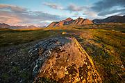 Tundra and Kilbuck Mountains, Alaska