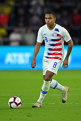 March 21, 2019 - Orlando, Florida, USA - US midfielder Weston McKennie (8) during an international friendly between the US and Ecuador at Orlando City Stadium on March 21, 2019 in Orlando, Florida. .The US won the game 1-0...©2019 Scott A. Miller. (Credit Image: © Scott A. Miller/ZUMA Wire)