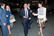 JAMES MURDOCH; RUPERT MURDOCH; WENDI DENG, Summer party hosted by Rupert Murdoch. Oxo Tower, London. 17 June 2009