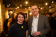 02/04/2019 Repro free:  <br /> Sam Hickeya and Jon Murray BMR at Harvest in the Mick Lally Theatre , an opportunity to share ideas for innovation and growth and discuss how to cultivate the city as a destination for innovation, hosted by GTC  and Sponsored by AIB and The Sunday Business Post .<br /> <br />   Photo: Andrew Downes, Xposure