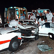 Ongeval tussen ambulance en personenauto waarvan bestuurder dronken op de Amersfoortsestraatweg in Bussum