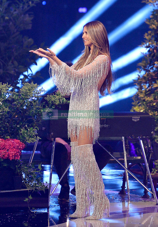 May 25, 2018 - DüSseldorf, Germany - TV personality Heidi Klum presents the final of Germany's Next Top Model at the ISS Dome on May 24 2018 in Düsseldorf, Germany..IBy Line: Famous/ACE Pictures...ACE Pictures Inc. (Credit Image: © Famous/Ace Pictures via ZUMA Press)