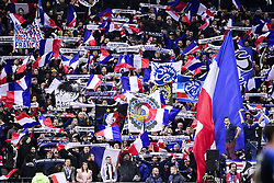 November 14, 2019, Paris, France, France: Supporters de l Equipe de FRance (Credit Image: © Panoramic via ZUMA Press)
