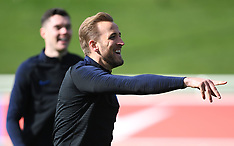 England Training Session and Press Conference - 24 March 2019