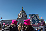San Francisco, California, USA. 20th January, 2018. The 2018 Women's March in San Francisco, organized by Women's March Bay Area.