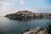 View of Kavala, Greece