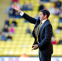 Photo: Leigh Quinnell.<br /> Watford v Hull City. Coca Cola Championship. 20/10/2007. Hull boss Phil Brown asks for more.